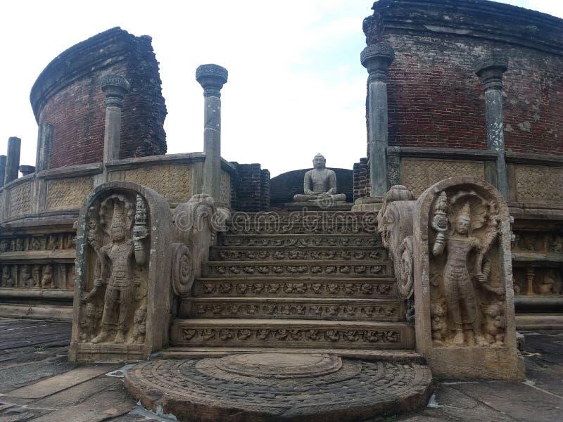 Polonnaruwa Vatadage obrazy royalty free