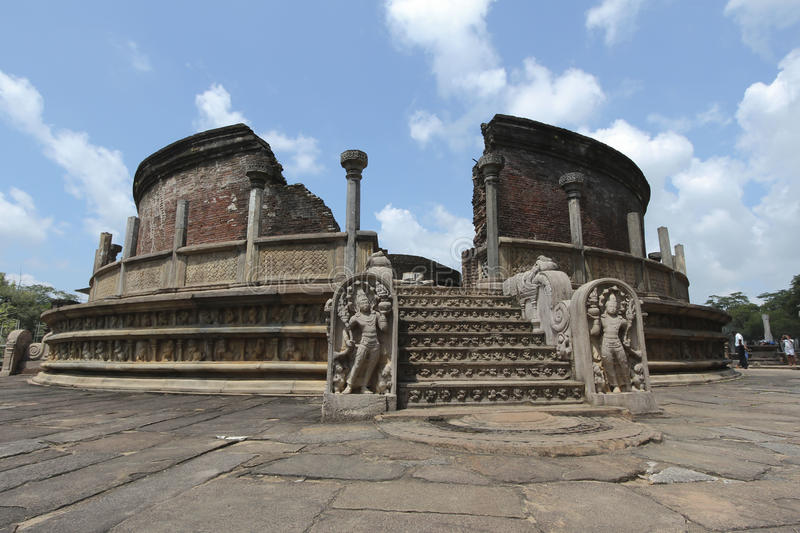 Polonnaruwa Vatadage imagem de stock royalty free
