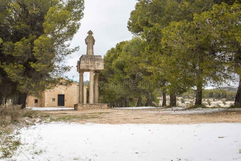 Polop Kluis Alcoy, Alicante, Spanje royalty-vrije stock fotografie