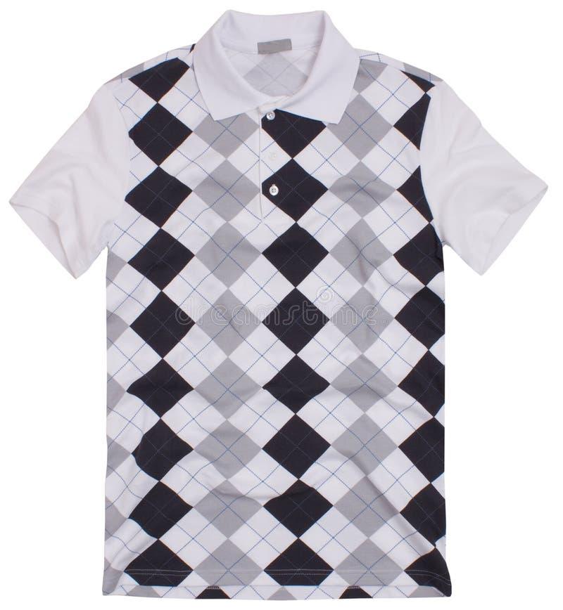 Poloskjorta med rhombusen royaltyfri fotografi