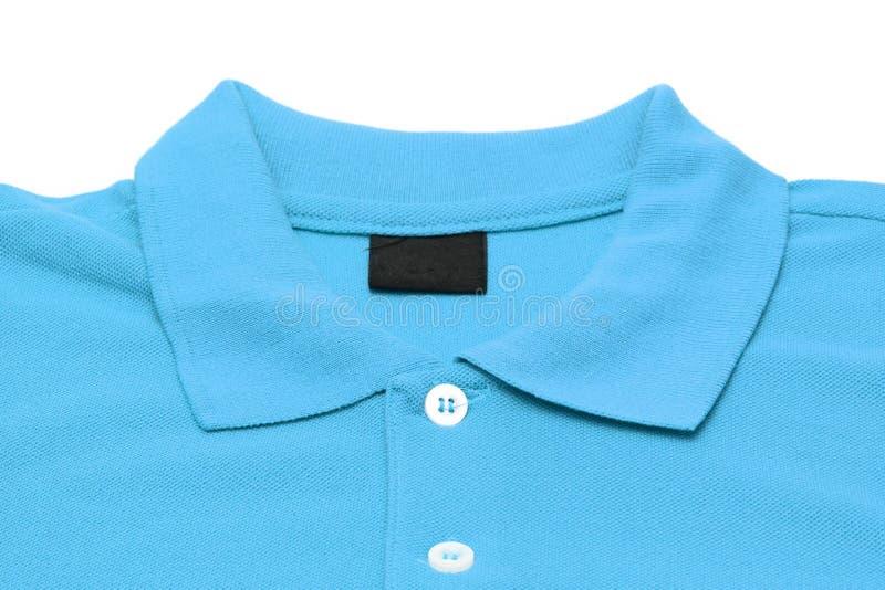 Polot-skjorta som isoleras på en vit bakgrund arkivbild