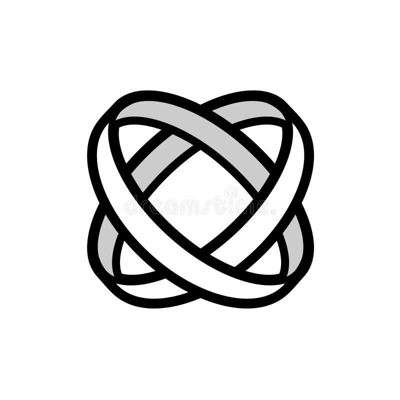 Polotny korporacyjny zrzeszeniowy symbol royalty ilustracja