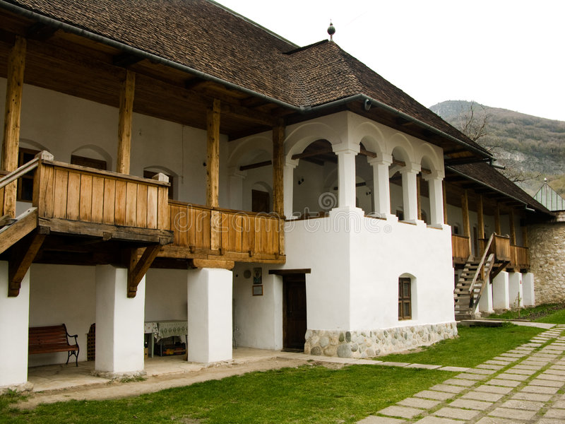 Polovragi monastery royalty free stock photos