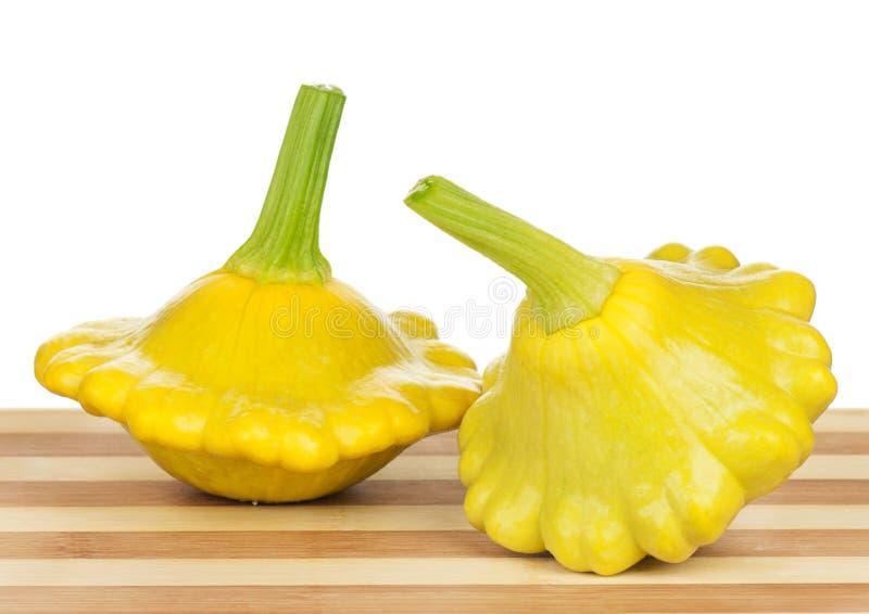 Polpa amarela do Zucchini imagem de stock royalty free