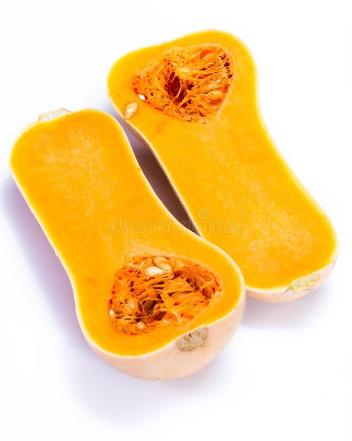Polpa de butternut fresca imagens de stock