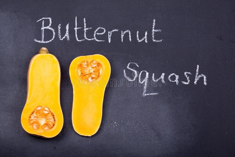 Polpa de Butternut no quadro imagem de stock