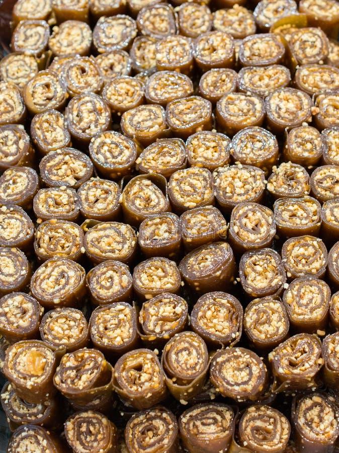 Polpa secada do fruto como o alimento de petisco fotos de stock