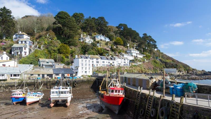 Polperro Cornwall royalty-vrije stock fotografie