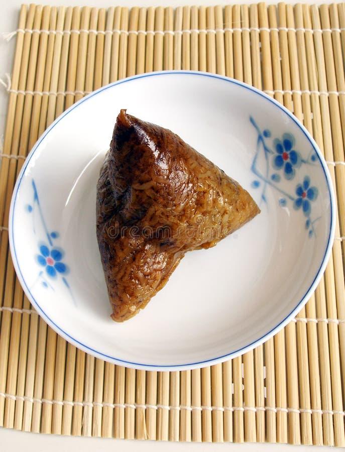 Polpette glutinose del riso del cinese tradizionale fotografia stock libera da diritti