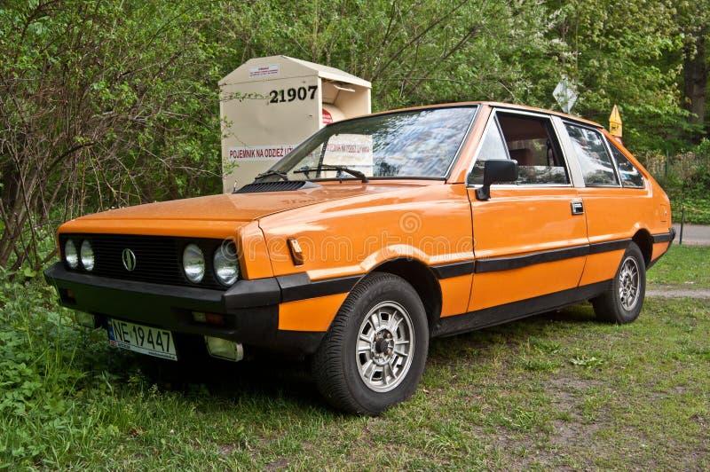 Polsk bil för klassiker arkivfoto