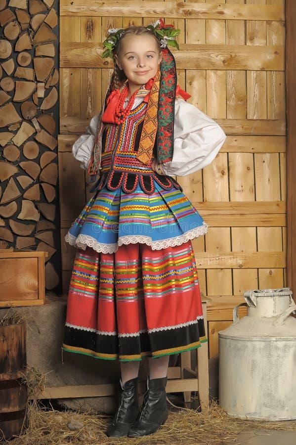Polsk flicka arkivfoton