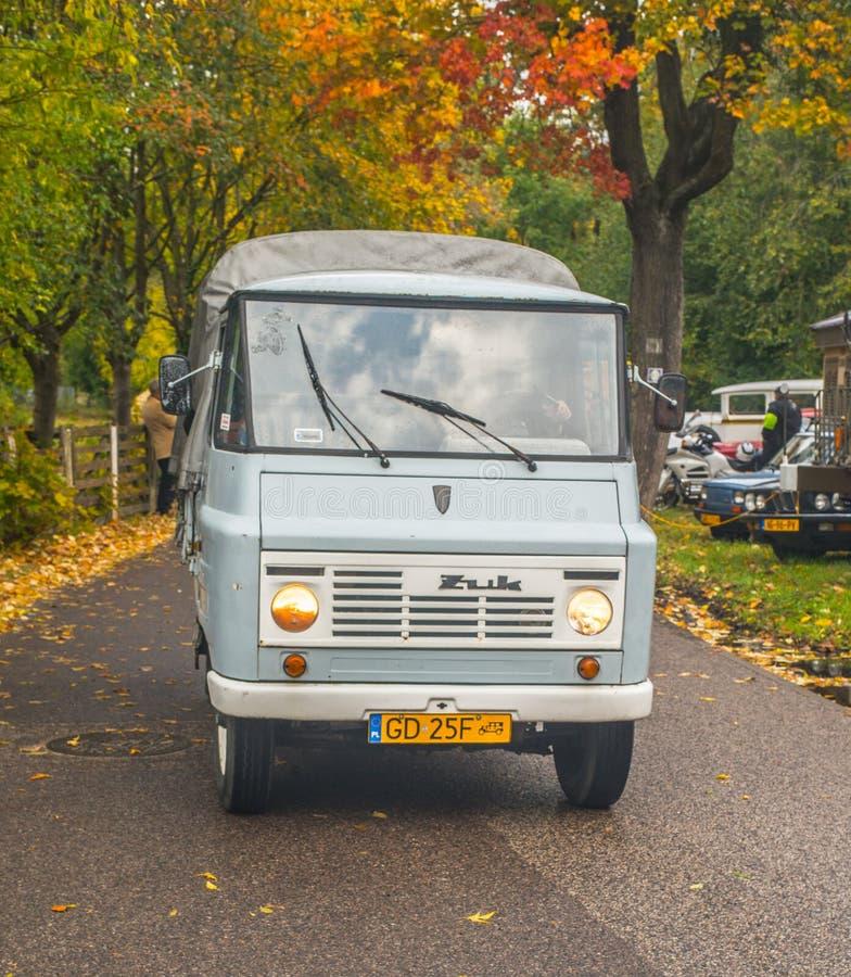 Polsk liten lastbilstjärna Zuk för klassiker royaltyfri bild