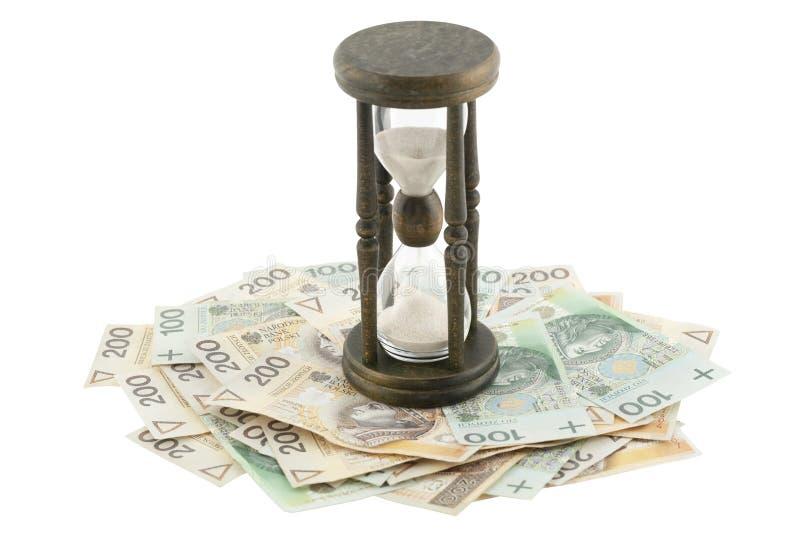 Polska waluta obraz stock