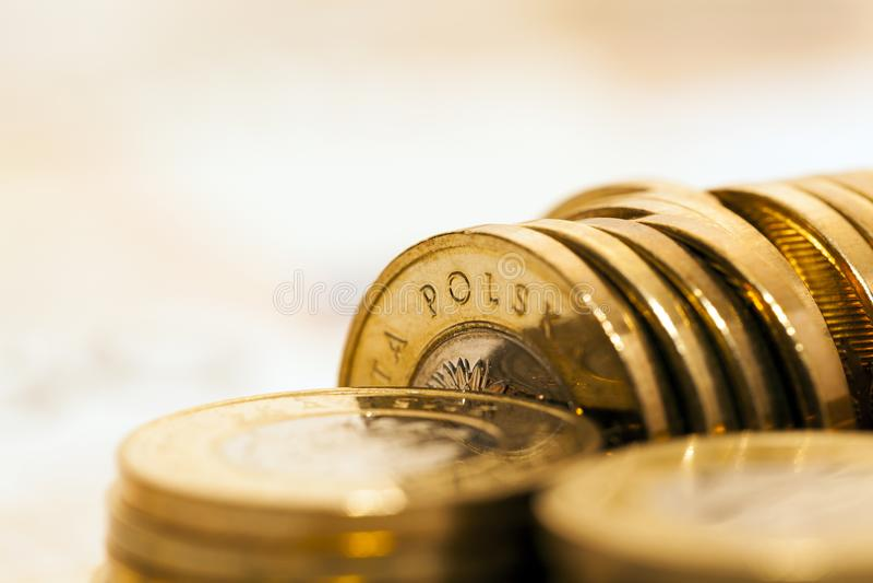 Polski banknot fotografia royalty free
