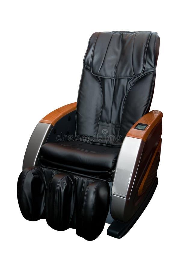 Poltrona da massagem no branco foto de stock royalty free