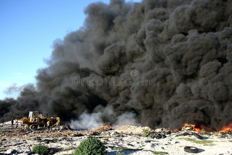 Poluição! foto de stock