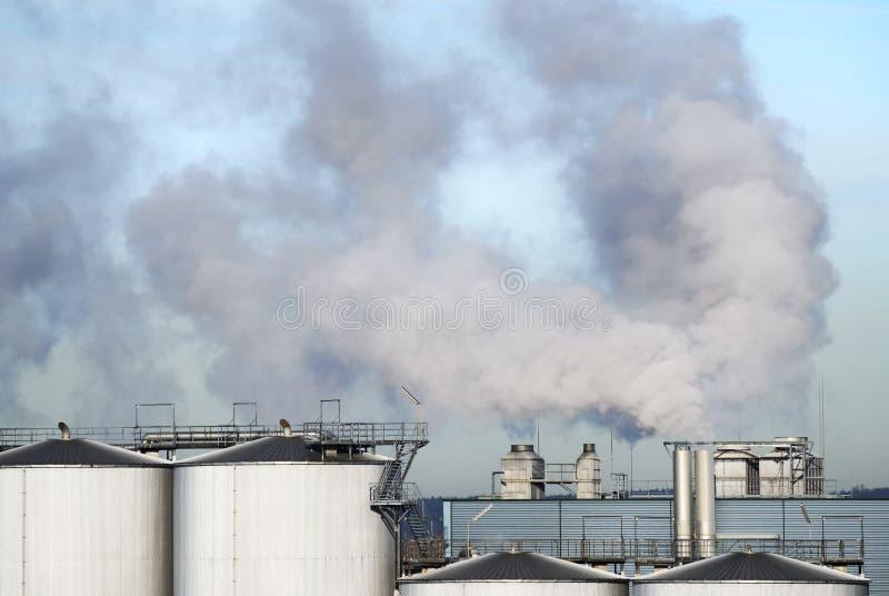 Poluição do ar imagem de stock