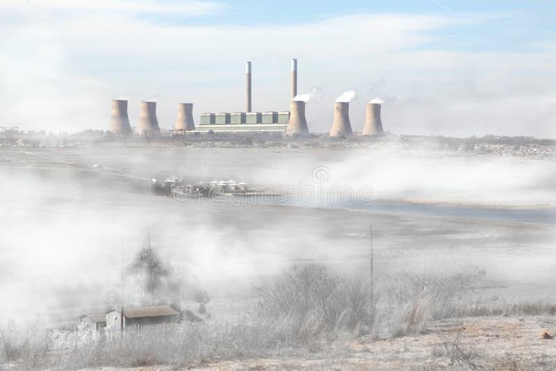 Poluição do ar imagens de stock