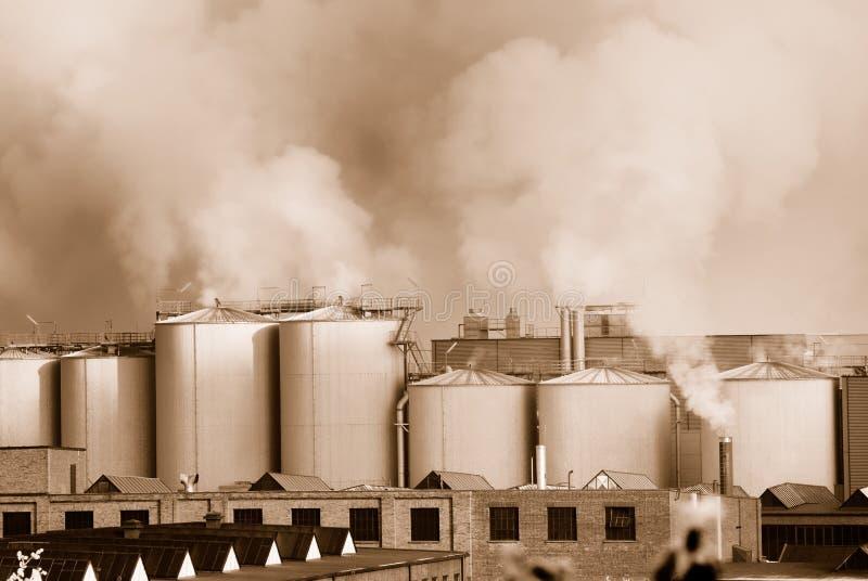 Poluição do ar imagens de stock royalty free