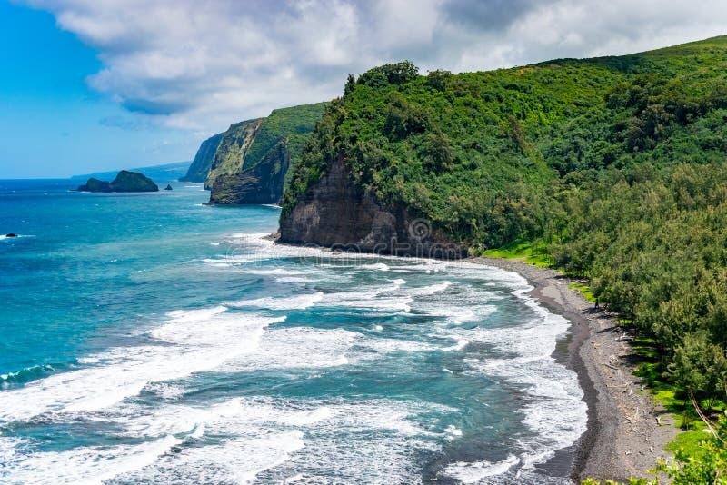 Polulu Lookout - Big Island royalty free stock photo