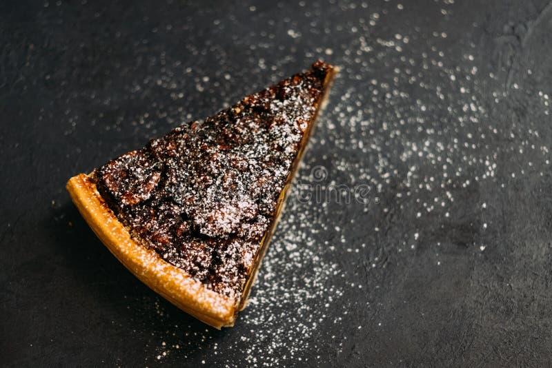 Polvere acida dello zucchero della melassa della noce del dessert della pasticceria fotografie stock