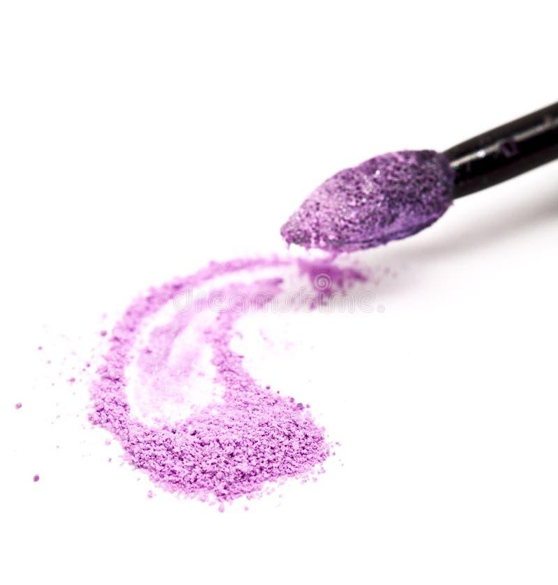 Polvere cosmetica fotografia stock