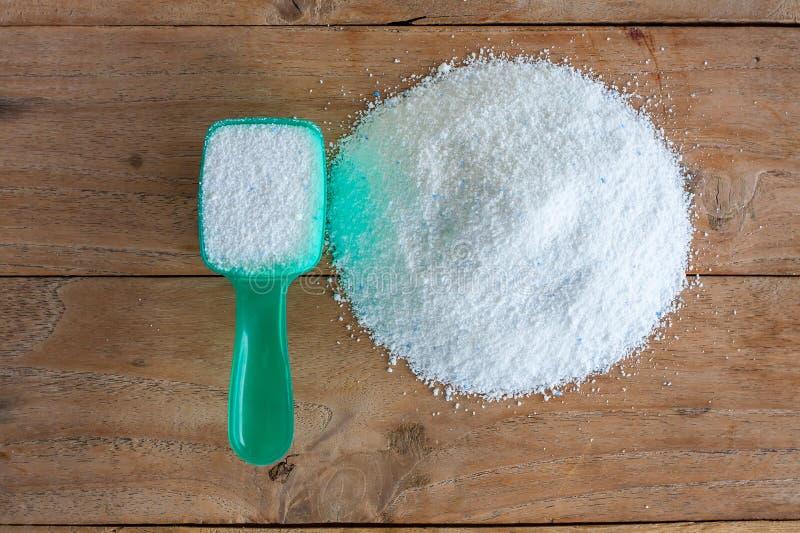 Polvere detergente, detersivo del detersivo fotografie stock