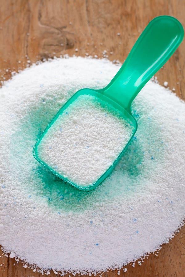 Polvere detergente, detersivo del detersivo immagini stock