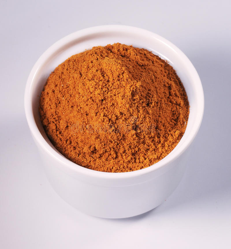 Polvere di curry immagine stock libera da diritti