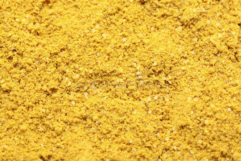 Polvere di curry fotografie stock libere da diritti