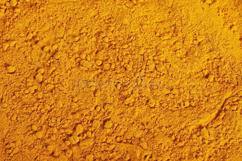 Polvo de la cúrcuma foto de archivo libre de regalías