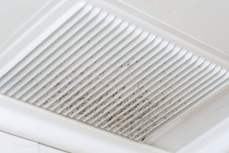 Polvo de la ventilación imágenes de archivo libres de regalías