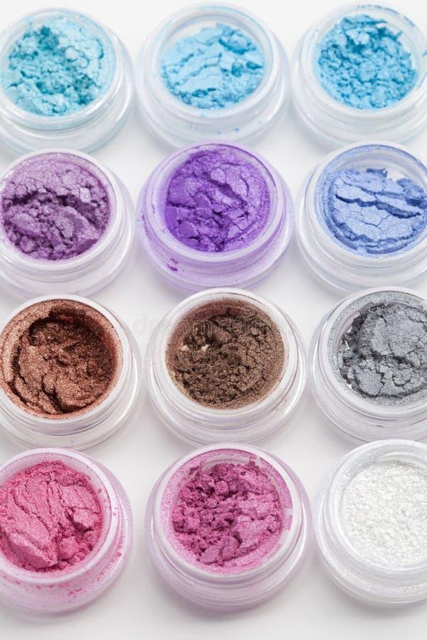 Polvo del maquillaje fotos de archivo libres de regalías