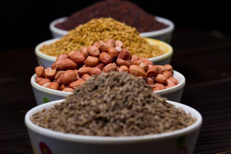 Polvo indio de la comida imagen de archivo libre de regalías