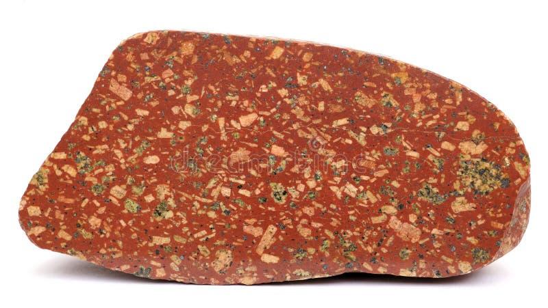 Polvo rojo pulido foto de archivo libre de regalías
