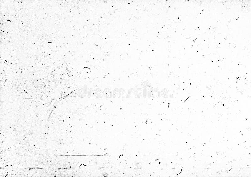 Polvo y rasguños - capa para el editor de fotos foto de archivo