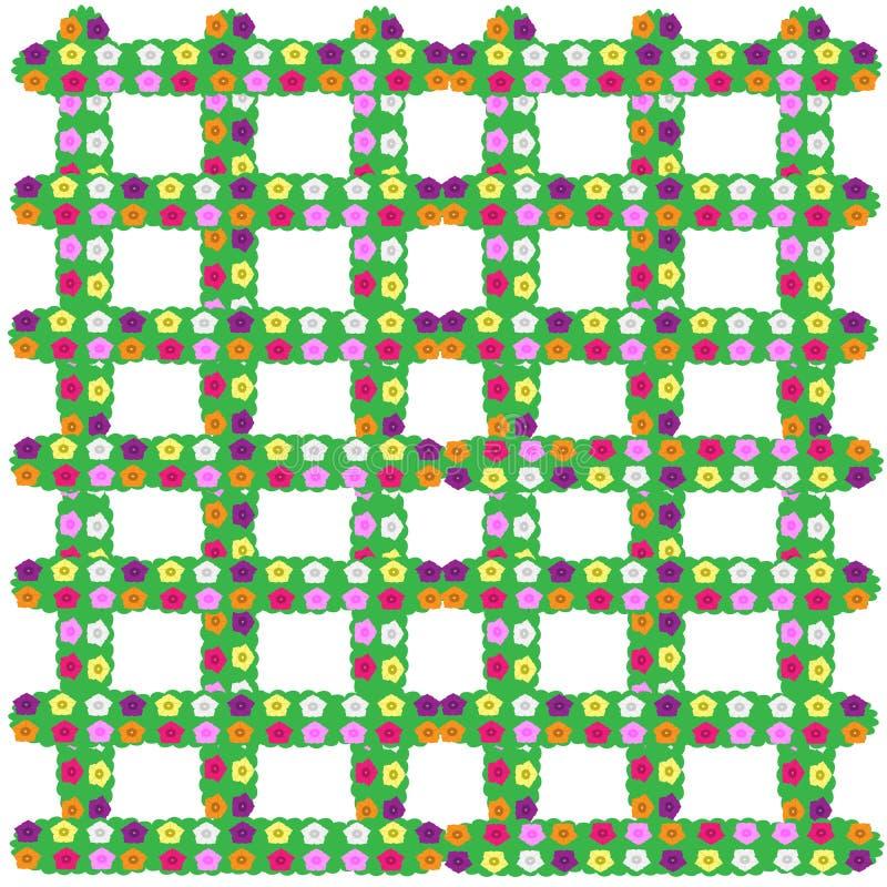 Polychrome-petunias-2018 ilustração do vetor