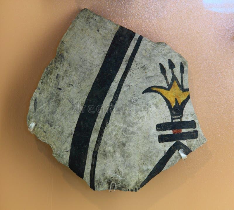 Download Polychrome pot shard stock image. Image of monument, anasazi - 25487091