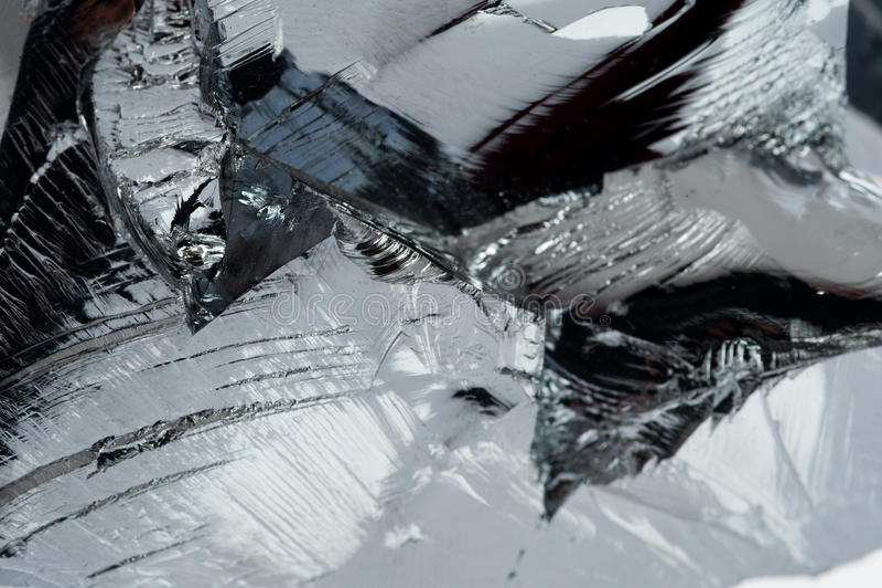 Polycrystalline Silicium stock afbeelding
