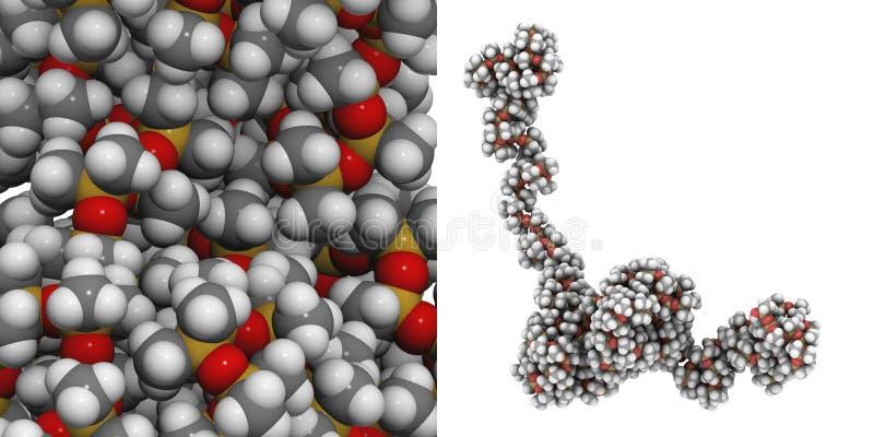 polydimethylsiloxane σιλικόνη απεικόνιση αποθεμάτων
