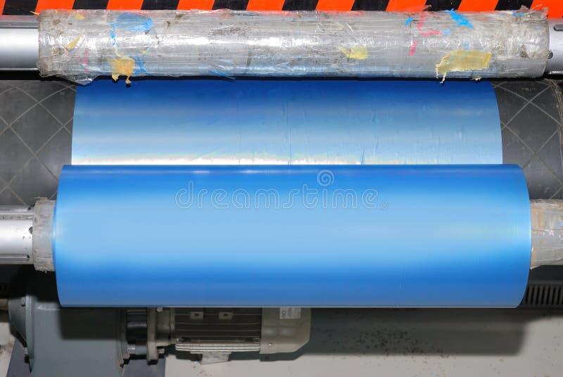 Polyethylene roll royalty free stock images