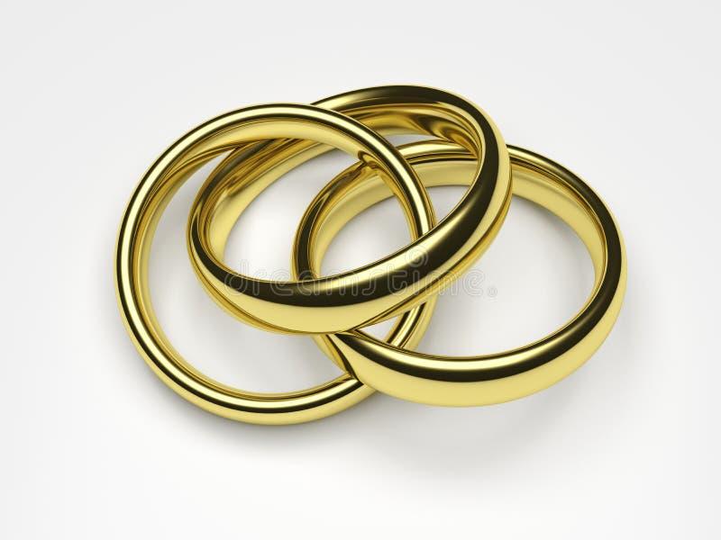 Polygamie vector illustratie