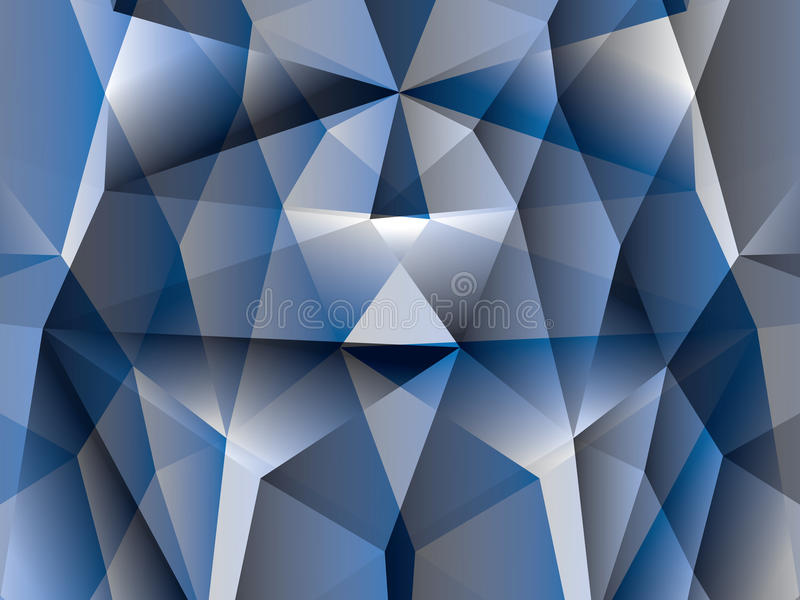 Download Polygon abstract stock illustration. Image of light, pattern - 19486492