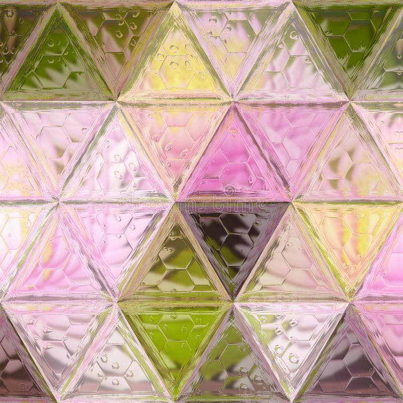 Polygon Abstract modern Polygonal Geometric Triangle Background royalty free stock images