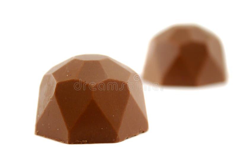 Polygon Chocolate royalty free stock image