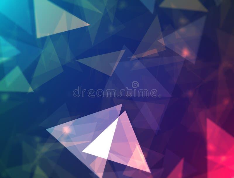 Polygon-Design lizenzfreie abbildung