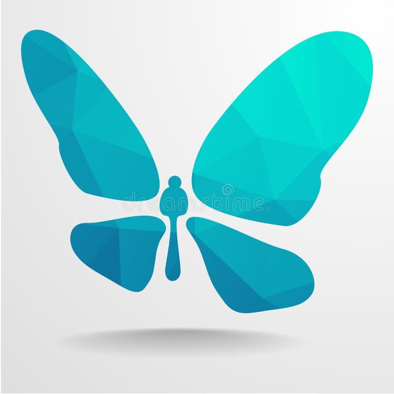 Polygon-Schmetterling vektor abbildung