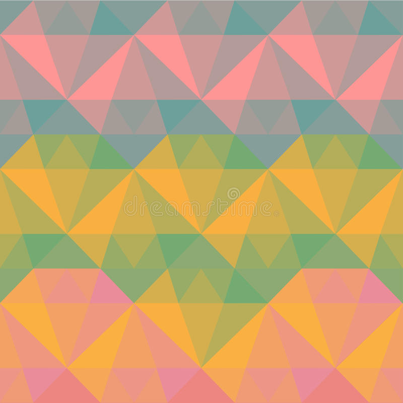 Polygonal άνευ ραφής σχέδιο απεικόνιση αποθεμάτων