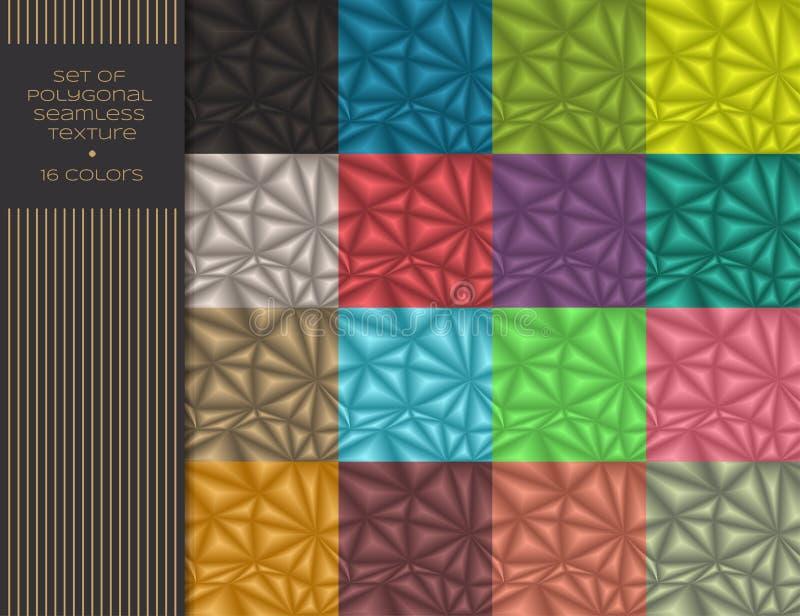 Polygonal άνευ ραφής σύσταση ελεύθερη απεικόνιση δικαιώματος