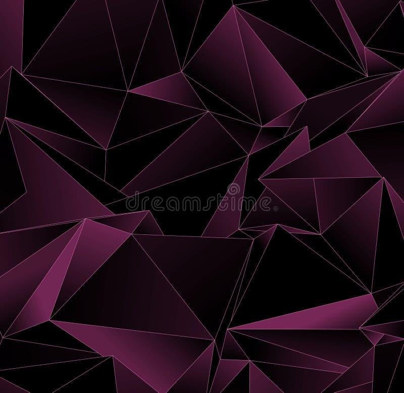Polygonal ανασκόπηση Αφηρημένη triangulated σύσταση ελεύθερη απεικόνιση δικαιώματος
